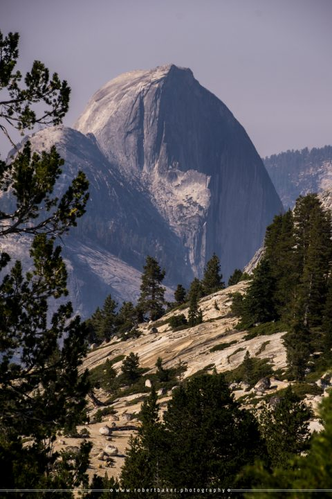 Half Dome visual from Olmsted Point