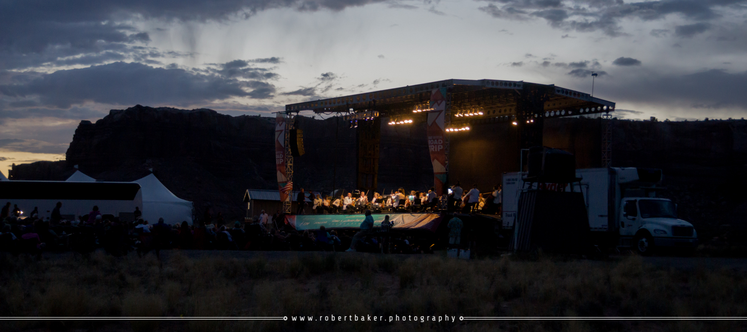 Open-air concert by the Utah Symphony