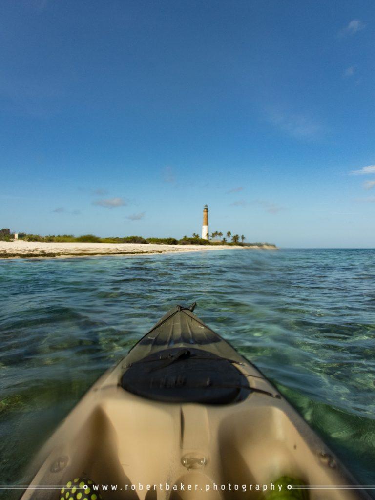 Kayaking to Loggerhead Key