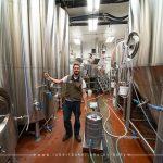 Vincent La Rochelle showing brewery
