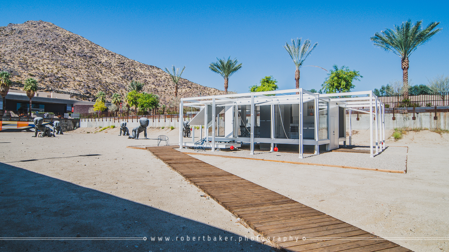 The Walker Guest House in Palm Springs