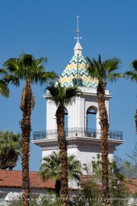 El Mirador Belltower in Palm Springs
