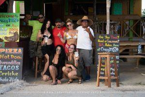 Crazy Fish Bar at Secret Beach