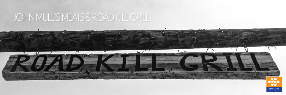roadkill grill sign
